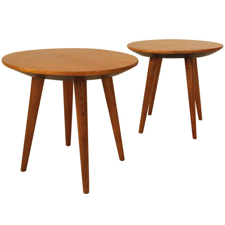 Pair of Side Tables by Gio Ponti