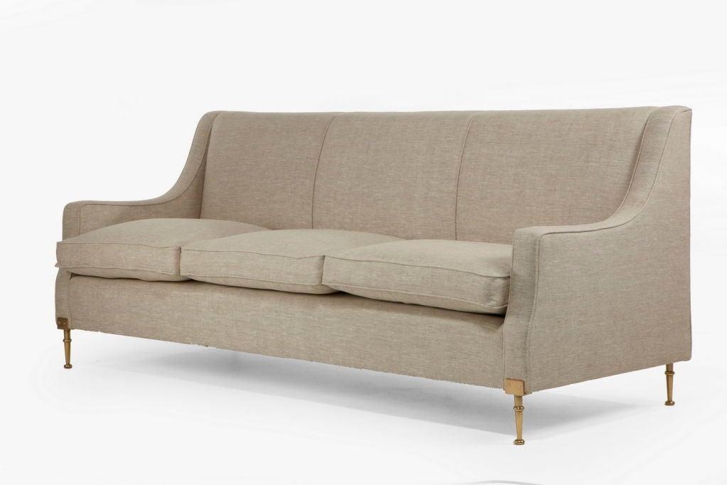 sofa by g minotti at 1stdibs. Black Bedroom Furniture Sets. Home Design Ideas