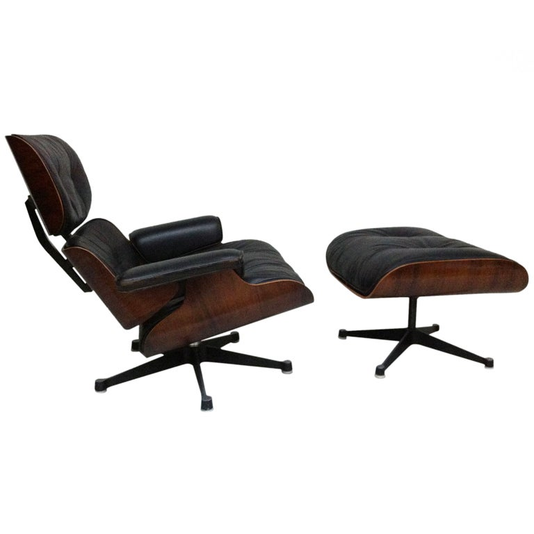 Charles Eames Rosewood Lounge Chair At 1stdibs