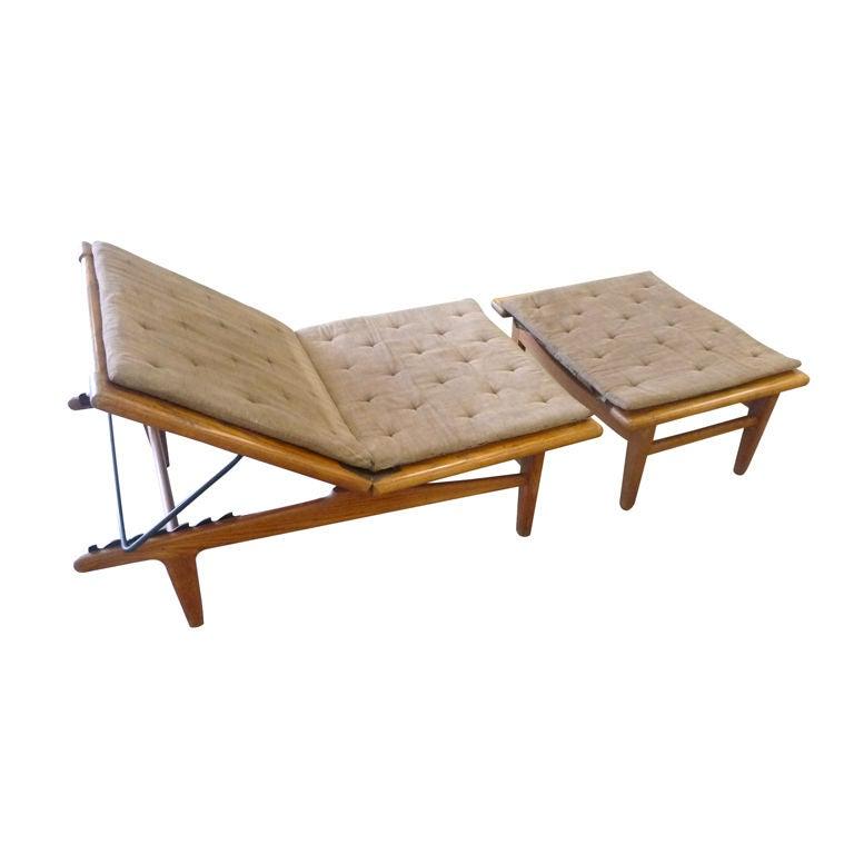 hans wegner daybed at 1stdibs. Black Bedroom Furniture Sets. Home Design Ideas