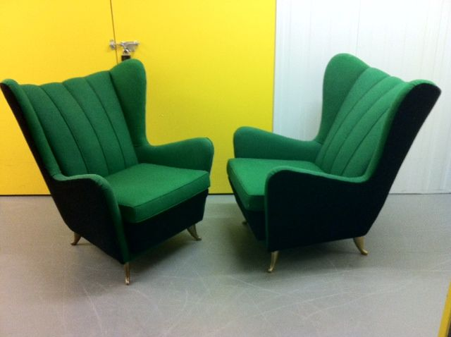 Sofa and Armchairs Designed by I.S.A 2