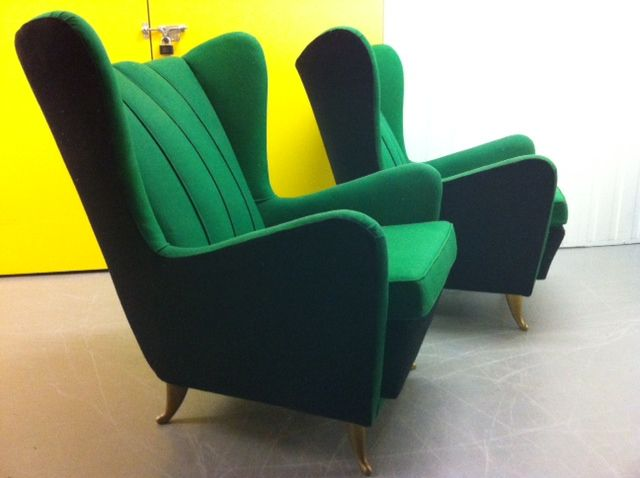 Sofa and Armchairs Designed by I.S.A 3
