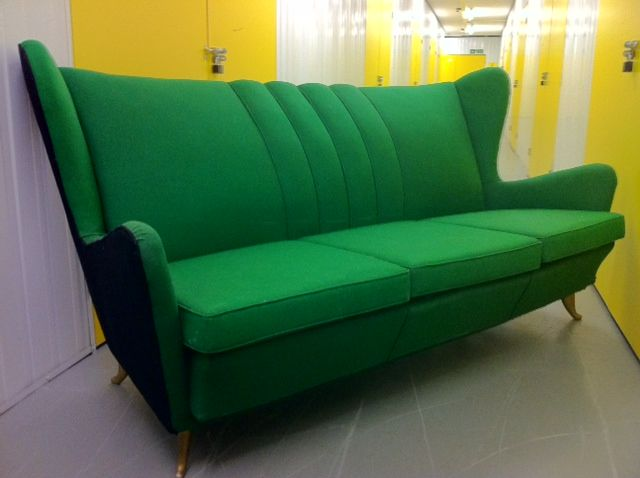 Sofa and Armchairs Designed by I.S.A 4