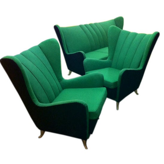 Sofa and Armchairs Designed by I.S.A 1