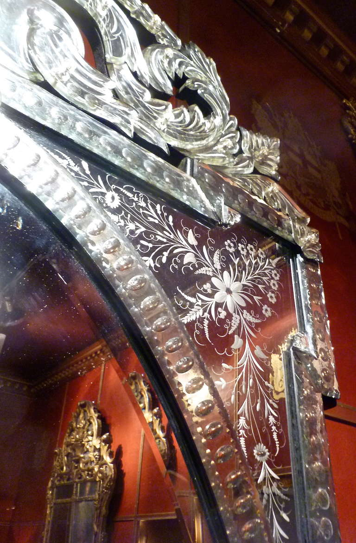 Opulent Venetian Mirror, Italy, c1900 at 1stdibs