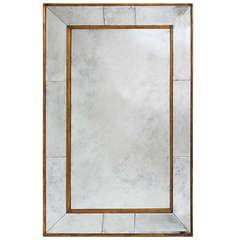 Monumental Italian Gilt Wood Framed Mirror c.1940