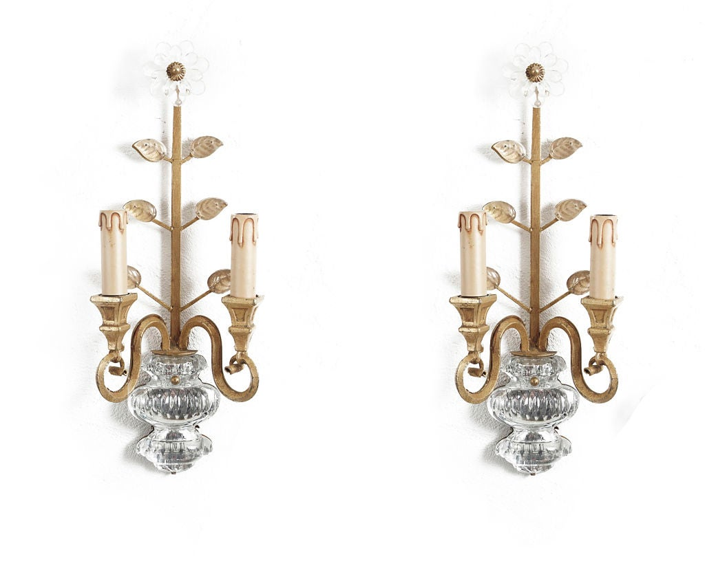 Wall Sconces Italian : Pair of Italian Wall Sconces at 1stdibs
