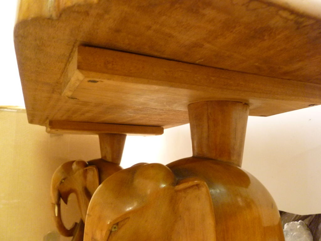 Suite Of African Teak Quot Elephant Quot Furniture At 1stdibs
