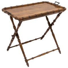 Large Butlers Tray on Folding Stand
