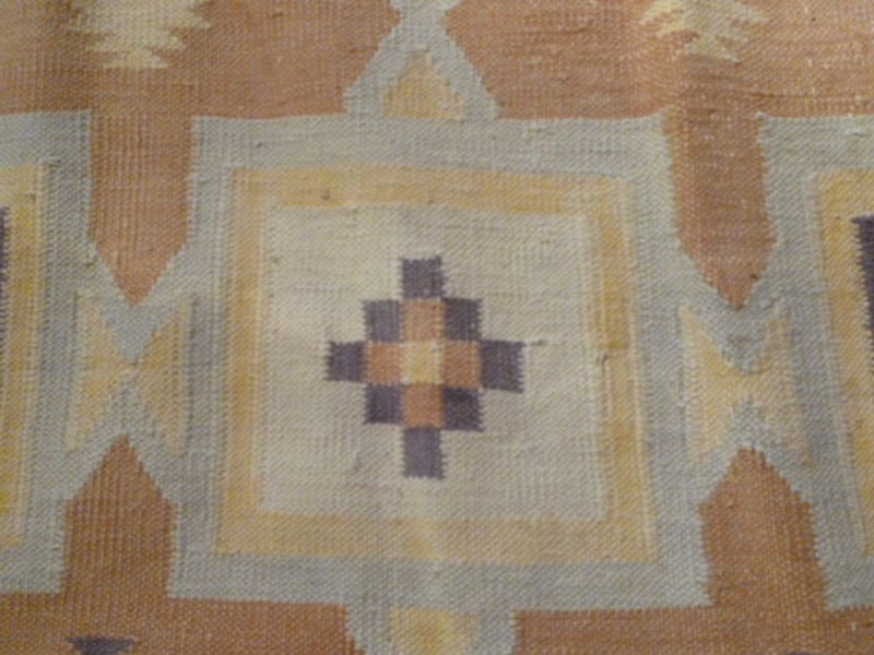 Antique Indian Dhurrie Rug In Good Condition For London Gb