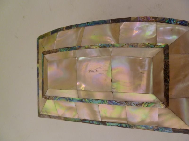 Victorian Mother of Pearl and Ivory Tea Caddy image 3