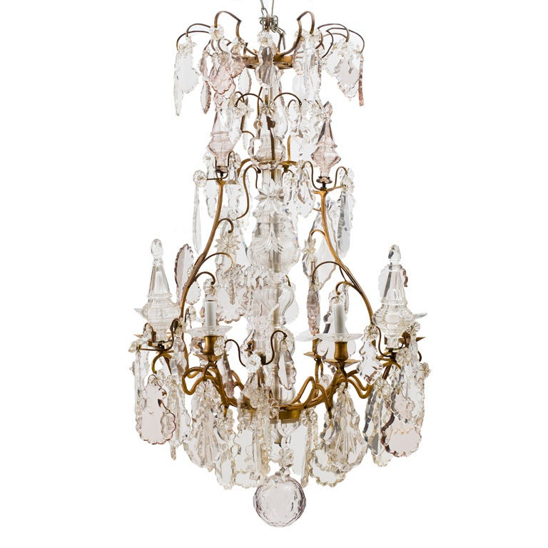 napoleon iii birdcage chandelier at 1stdibs. Black Bedroom Furniture Sets. Home Design Ideas