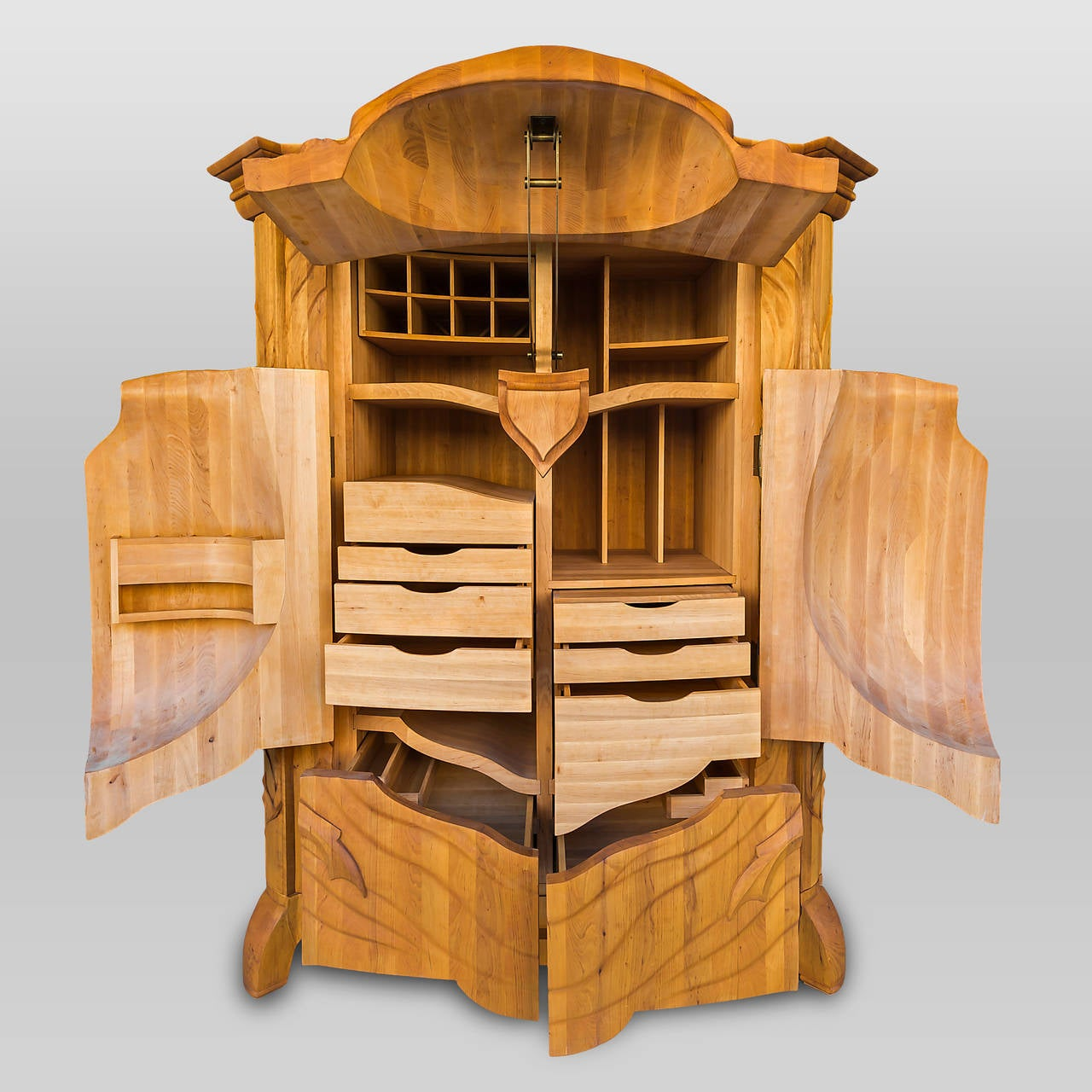 "Unique and Extraordinary ""Beetle"" Cabinet Made by Janis Straupe, Latvia, 2014 In Excellent Condition In London, GB"