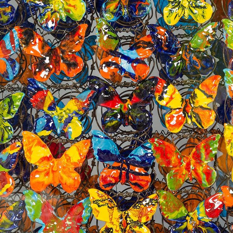 20th Century Dalla Primavera del Botticelli by Marcello Lo Giudice, 1999 For Sale