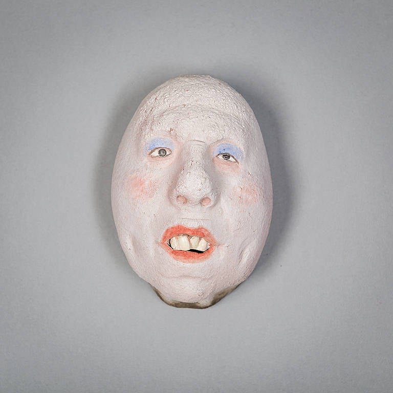 Assorted Ceramic Masks by Johan Thunell For Sale 2