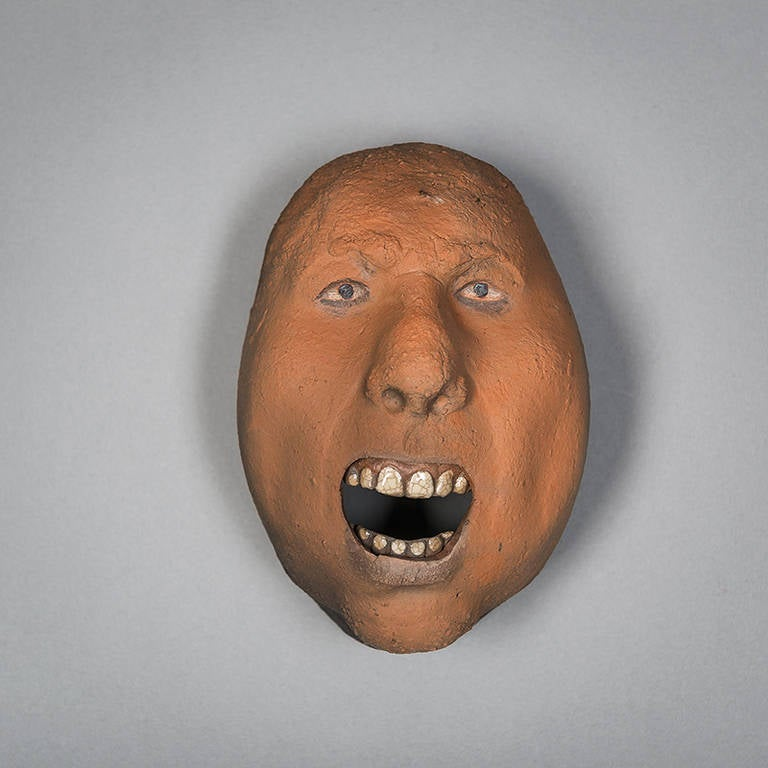 Assorted Ceramic Masks by Johan Thunell For Sale 5