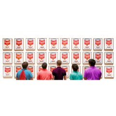 """Campbells Soup Boys"" by David Scheinmann, England, 2011"