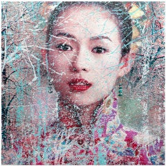 """Zhang Ziyi"" by David Scheinmann, England 2012, Edition 3/5 and 2 APs"