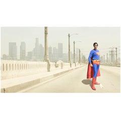 """Superman"" photograph by David Scheinmann, England, 2010. Edition 1/7 '+ 2 AP'"