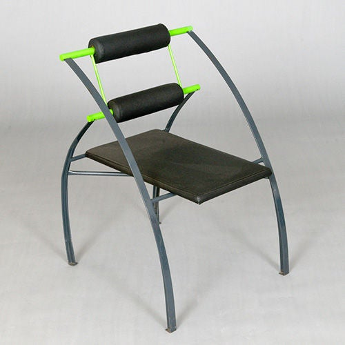 20th Century Set of Four Chairs by Mario Botta, Italy, Late 1980s or Early 1990s For Sale