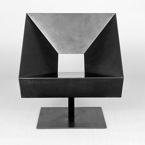 Contemporary 'Cadre' Steel Chair by Stephane Ducatteau, France, 2005 For Sale