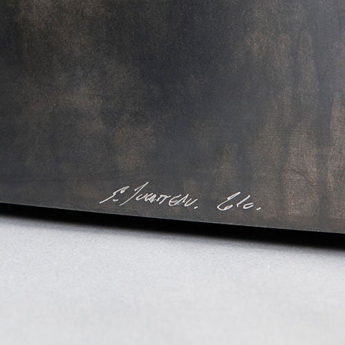 French 'Galets' Centre Table Metal Structure by Stephane Ducatteau For Sale
