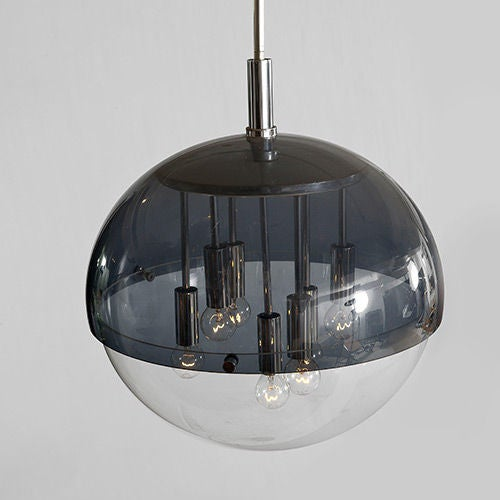 Globe Ceiling Light By Giannelli Italy 1970s At 1stdibs