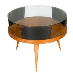 """Drum"" Coffee Table attributed to Martin Eisler"