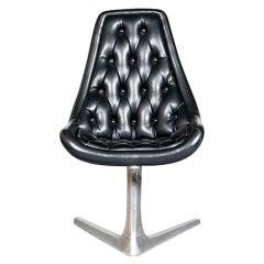 """Sculpta """"Star Trek"""" Chair by Chromcraft, USA, c1966"""