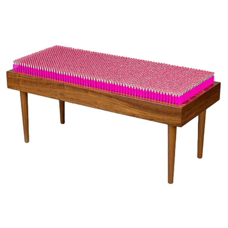 "Limited Edition ""Pencil Bench,"" England, 2007 For Sale"
