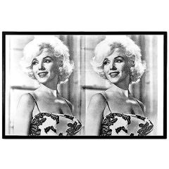 """Desire"" Diptych Diamond Dust Screen Print by Russell Young"