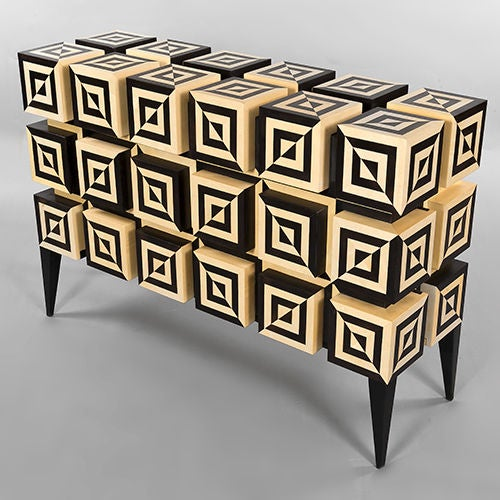 """Undulation 2"" Unique Sideboard by Aymeric Lefort, France, 2011 3"