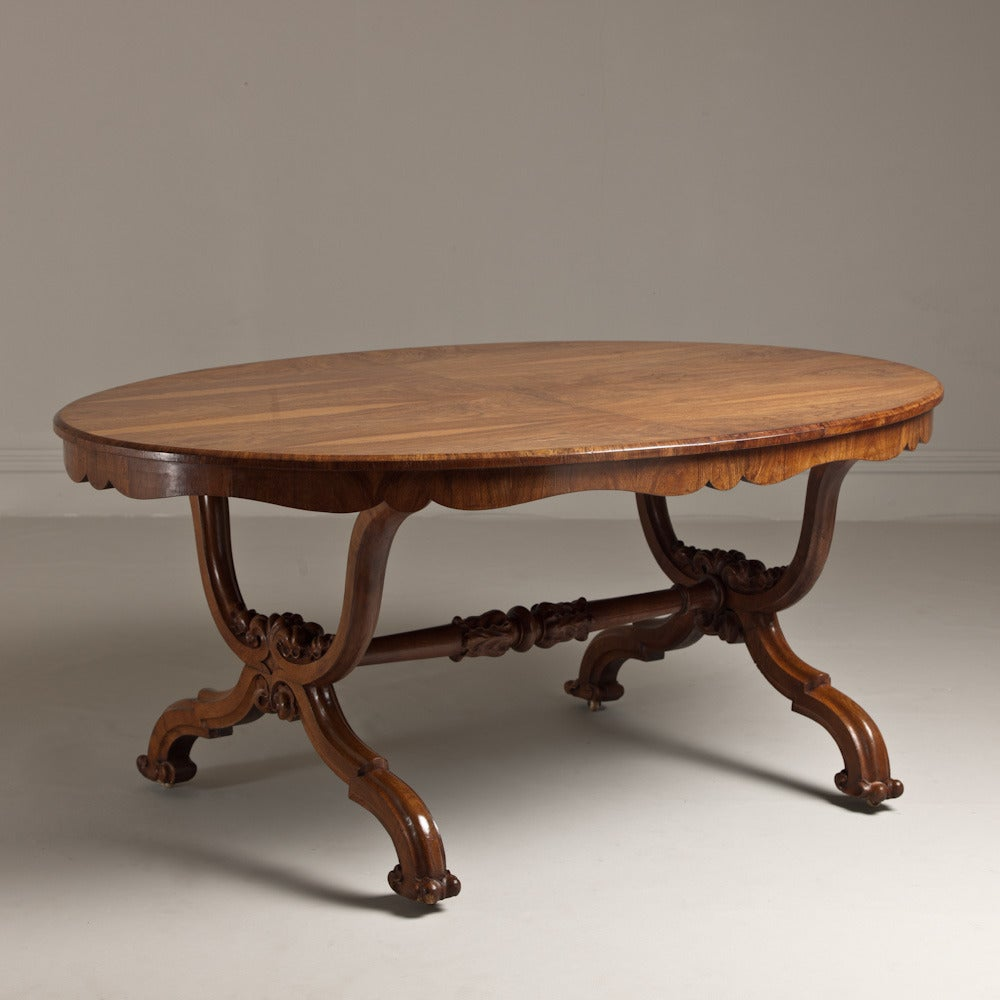 A Stunning Irish Centre Table Veneered in Oak circa 1835  : L8706A 1 from www.1stdibs.com size 1000 x 1000 jpeg 87kB