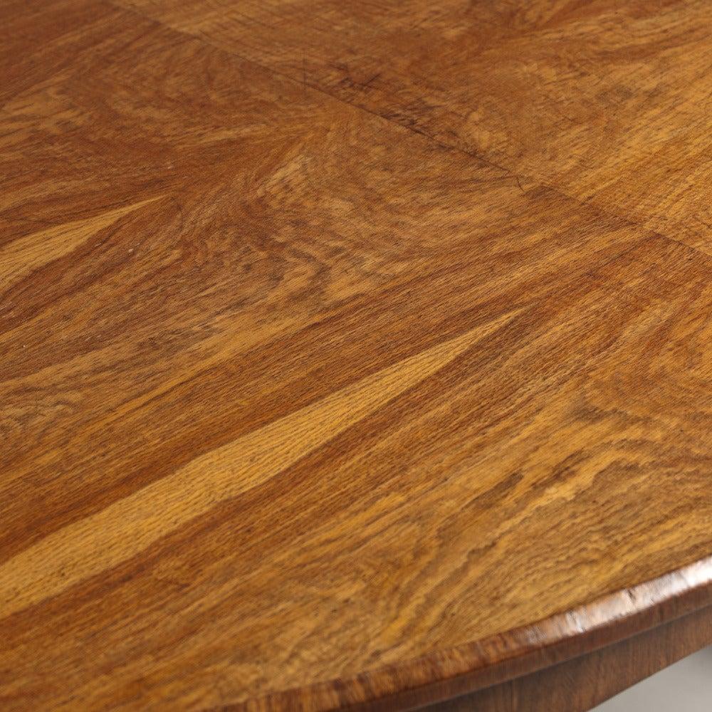 A Stunning Irish Centre Table Veneered in Oak circa 1835  : L8706D 1 from www.1stdibs.com size 1000 x 1000 jpeg 248kB