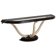 Maitland-Smith Designed Console Table, USA, 1970s
