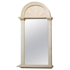 Large Neoclassical Style Maitland-Smith Designed Mirror, 1980s