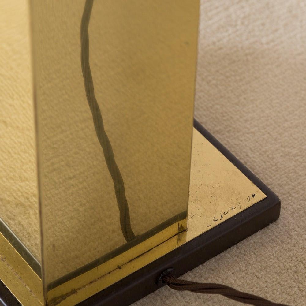 Rare Curtis Jere Brass Skyscraper Floor Lamp 1979 At 1stdibs