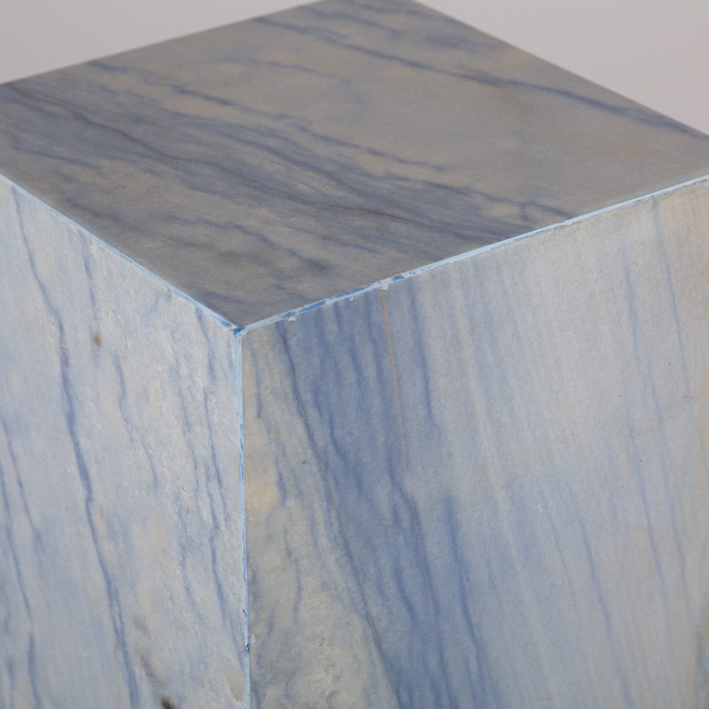 Nice Rare Italian Blue Marble Pedestal 3