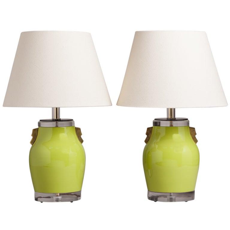 lime green table lamp home design 2017. Black Bedroom Furniture Sets. Home Design Ideas