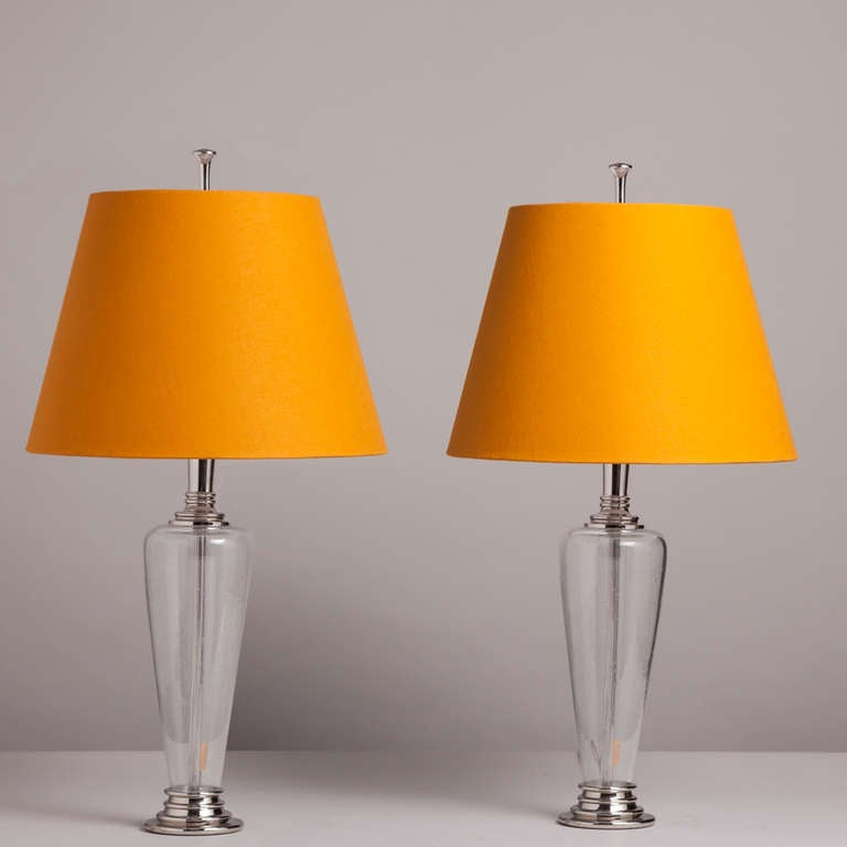 this a pair of murano clear glass table lamps 1970s is no longer. Black Bedroom Furniture Sets. Home Design Ideas