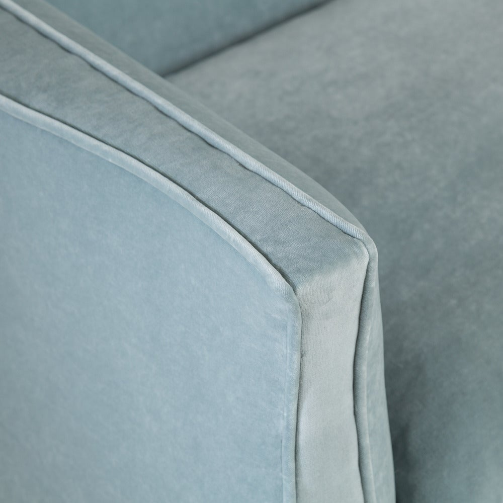 Upholstery Standard High Back, French Style Sofa by Talisman Bespoke For Sale