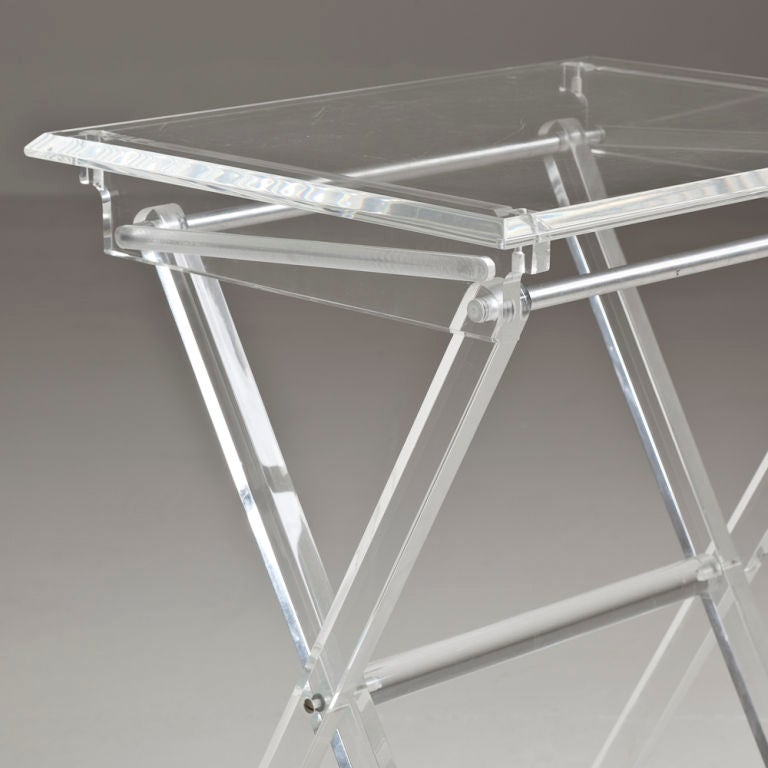 Acrylic Folding Tray Tables