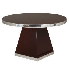 A Pedestal Centre Table by Pierre Cardin