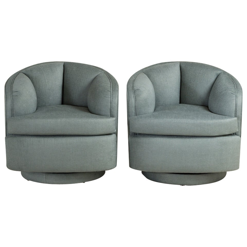 Swivel Armchairs Upholstered 28 Images Pair Of Quilted Upholstered Swivel Armchairs 1970s At
