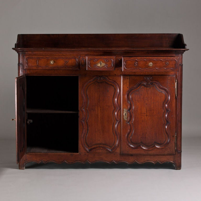 A late th century french buffet in cherry wood at stdibs