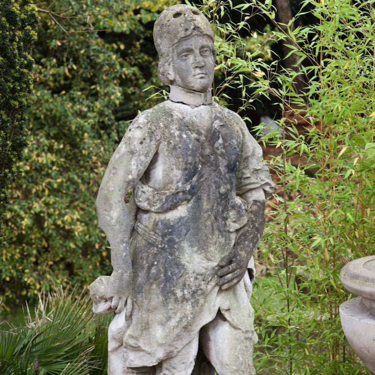 A 17th century portland stone statue of athena at 1stdibs for Garden statues portland oregon