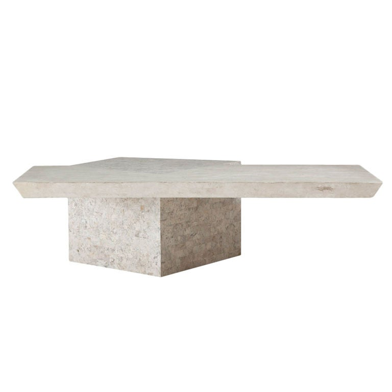 A Maitland Smith Tessellated Stone Coffee Table 1980s At 1stdibs