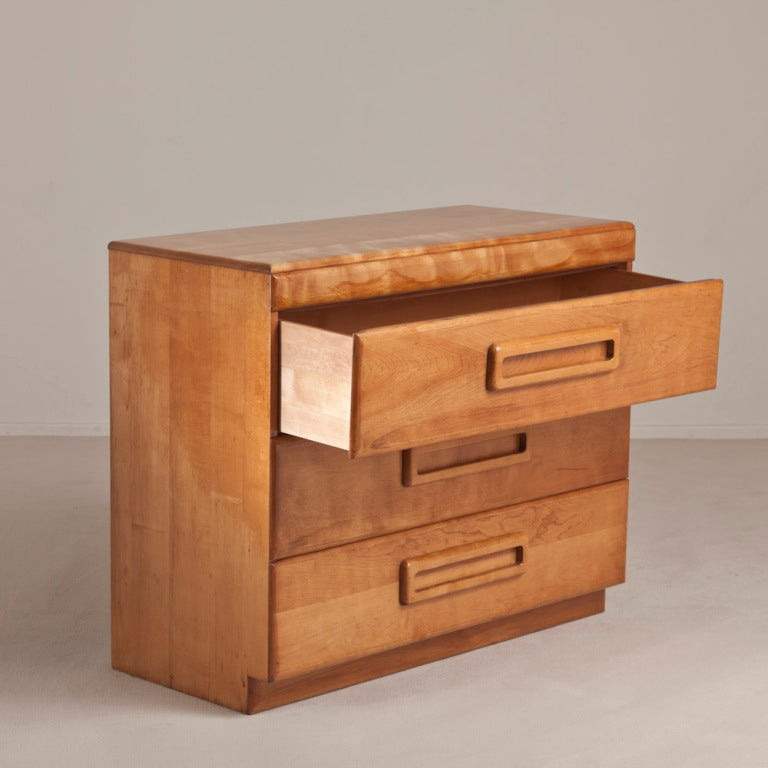 A Three Drawer Commode By Heywood Wayfield Usa 1960s At