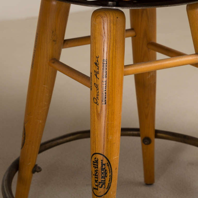 Tremendous Baseball Glove Bar Stools Bralicious Painted Fabric Chair Ideas Braliciousco