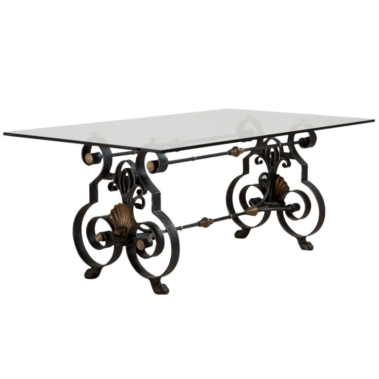 Xxx 8407 1348670059 Wrought iron coffee table bases